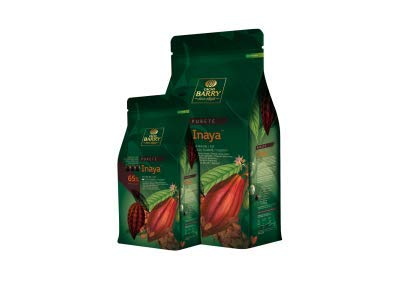 CACAO BARRY 65% Min Cacao Chocolat Inaya Pistoles 1 kg