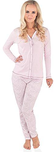 Italian Fashion IF Pyjama Femme Luda 0223 Rose