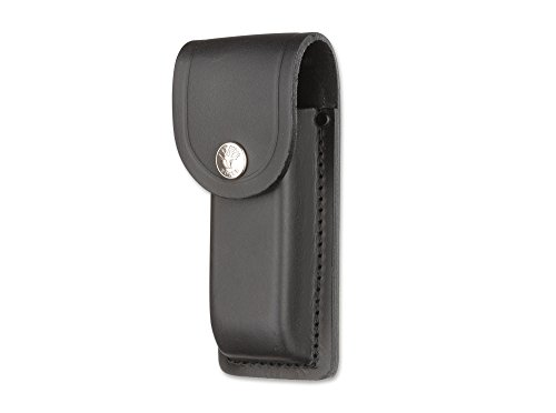 Magnum Erwachsene Messer Großes Leder-Etui Schwarz One Size