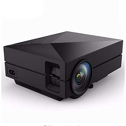YTBLF Mini Projektor Video Spiel TV Beamer Projekt Heimkino Film Unterstützung 1080 P AC3 HDMI VGA AV SD USB (Freies Projekt Tv)
