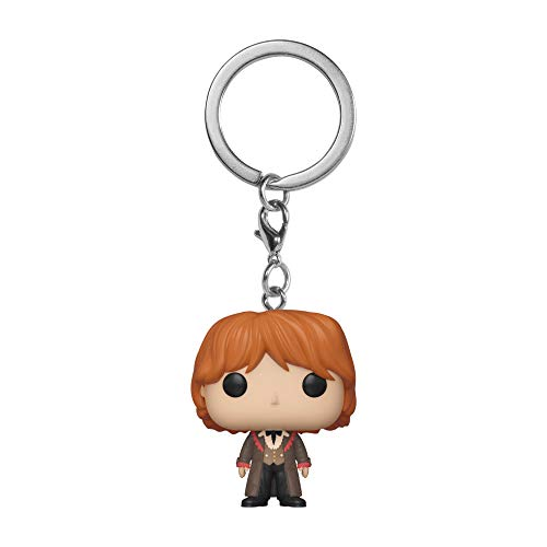 Funko - Porte Clé Harry Potter - Ron Yule Ball Pocket