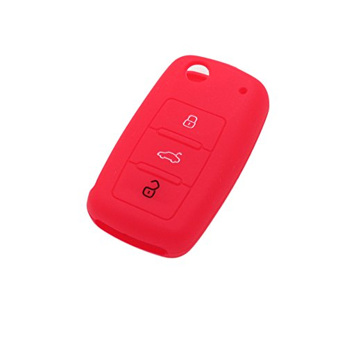 fassport-silicone-cover-skin-jacket-fit-for-volkswagen-seat-skoda-3-button-flip-remote-key-cv9800-re