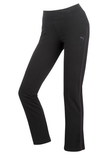 Grande Taille: Femme, pantalon de Sport, Puma noir