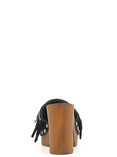 CAFèNOIR  ONC603 Taupe, Sandales pour femme Noir