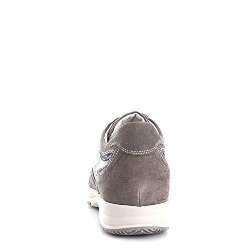 Nero Giardini P704751U Sneakers Uomo Grigio Fumo