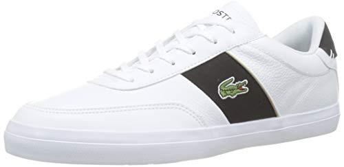 Lacoste Herren Court-Master 319 6 CMA Sneaker, Weiß (White/Black 147), 46 EU