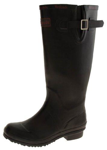 Footwear Studio , Bottes en caoutchouc femme Noir - noir