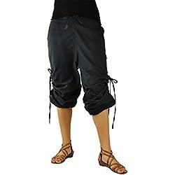 pantalones cagados cortos y largos para hombres y mujeres. Pantalones bombachos para hombres y mujeres como ropa hippie de virblatt S - L - Praktisch