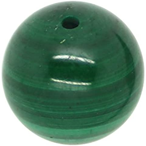 Verde Malachite 5 x perla, 4 mm, in rotolo