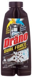 drano-professional-strength-foamer-clog-remover-case-pack-eight-17-ounce-bottles-136-ounces-by-drano