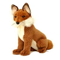 Plush Soft Toy Life-like Fox by Hansa 28cm 2923