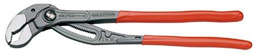 KNIPEX 87 01 400 SB Cobra® XL Rohr- und Wasserpumpenzange grau atramentiert mit Kunststoff überzogen 400 mm (in SB-Verpackung)
