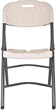 Folding Chairs Plastic - Off White