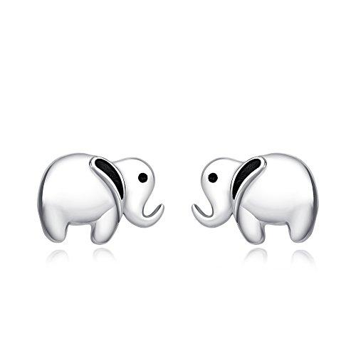 yfn-925-Sterling-Silber-lucky-Cute-Elefant-Anhnger-Halskette-fr-Frauen-Mdchen-Kinder-18-Rolo-Kette