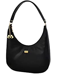 I Define You Isabella Black Color Top Zip Imported Genuine leatherette bag  for Girls and Women 5762a5a064203