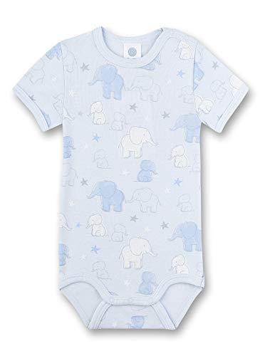 Sanetta Baby-Jungen Halbarmbody Spieler, Blau (blau 50308), 92 (Herstellergröße:092)