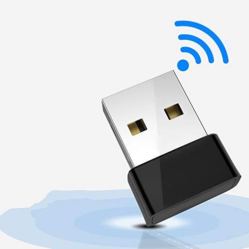 SHKY Mini Wireless Netzwerk USB WiFi Adapter für PC Desktop Laptop Tablet, Unterstützung Windows 7 / XP -