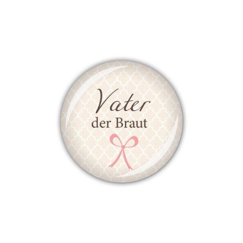 """Button """"Vater der Braut"""""""