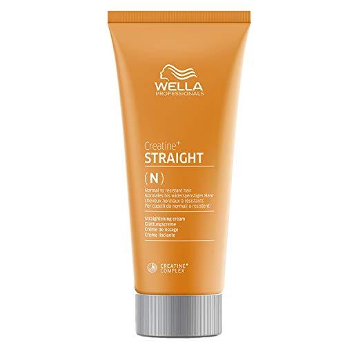 Wella Creatine+ Straight Glättende Creme für Normales bis widerspenstiges Haar, 200 ml