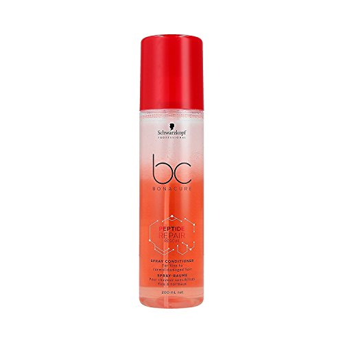 Schwarzkopf Professional BONACURE Peptide Repair Rescue Spray Conditioner, 200 ml - Conditioner Spray Bc
