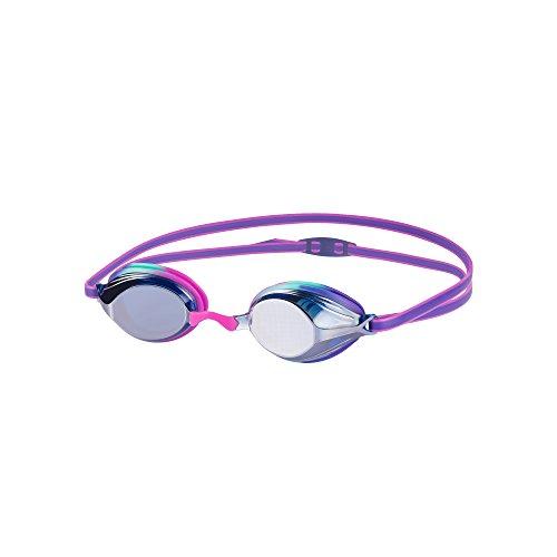 Speedo Kinder Vengeance Mirror Junior Goggles, Diva/Violet/Silver, One Size