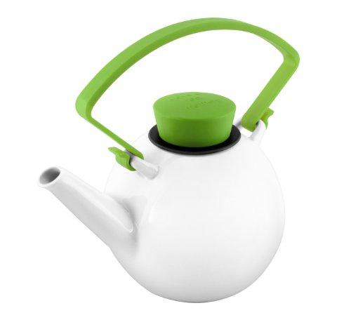 QDO avec Clip et poignée théière Porcelaine Vert