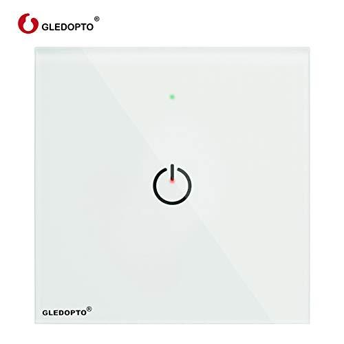 GLEDOPTO ZigBee Touch - Interruptor de pared (230 V, para muchos productos...