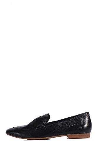 Vagabond Clara Mocassin-Black Mocassins Noirs en Cuir Noir - Noir