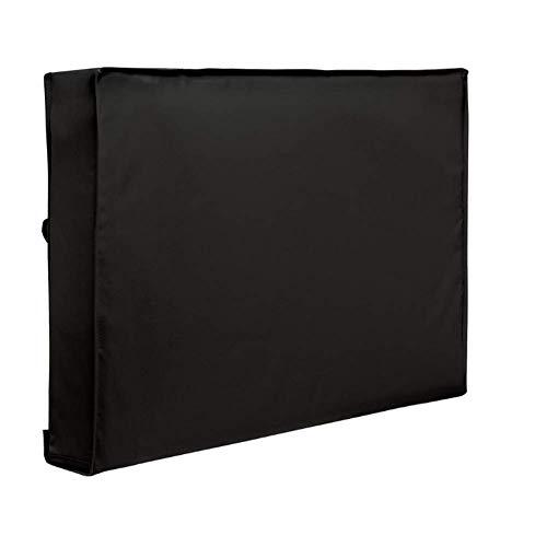 gshhd88 Außen TV Abdeckung, Wetterfest und Staubdicht Universal Schutz für 30''- 32'' LCD, LED,Plasma TV Set, Einbaut Fernbedienung Aufbewahrung Taschen - Schwarz, 30-32 (Tv 32 De Plasma)