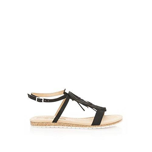 MARIA MARE - 66035 - C25627 - Sandale - Donna - Taglia: 39 - Colore: Nero