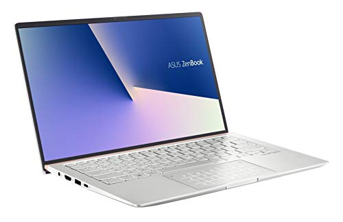 ASUS ZenBook 14 UM433DA (90NB0PD6-M00210) 35,5 cm (14 Zoll, Full HD, matt) Ultrabook (AMD R5-3500U, AMD Radeon Vega 8 Graphics, 8GB RAM, 512GB SSD, Windows 10) Icicle Silver
