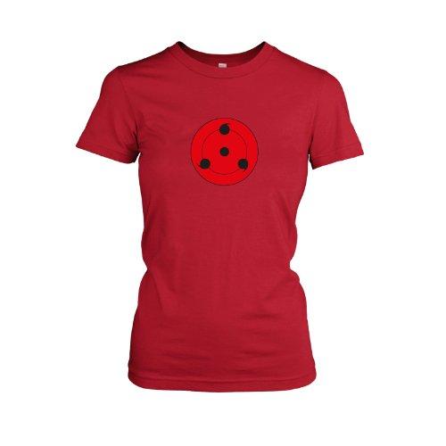 TEXLAB - Sharingan Stufe 3 - Damen T-Shirt Rot
