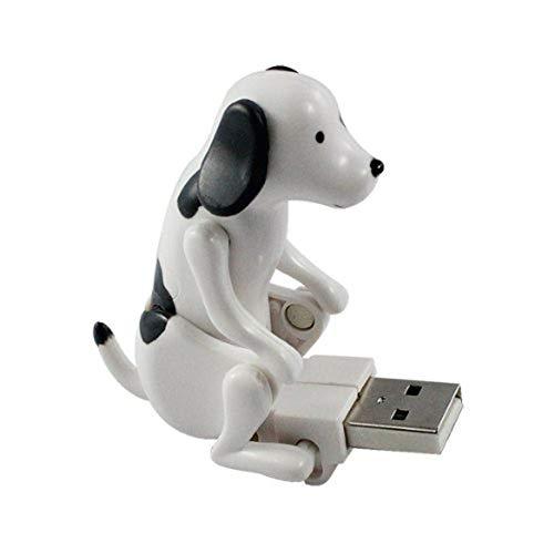 LIMTT Wird Bewegen Welpen U Scheibe Pervert Hund Hey Hund U Scheibe 8G Schurken Hund USB Hund Spielzeug Hund 16GB/ pâle
