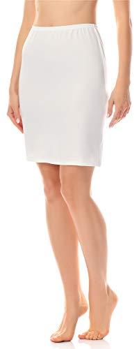Merry Style Enaguas Minifalda Lencería Ropa Interior Mujer MS10-204 (Marfil, L)