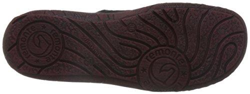 Remonte D3871 02, Sneakers Hautes Femme Noir (Noir Combiné)