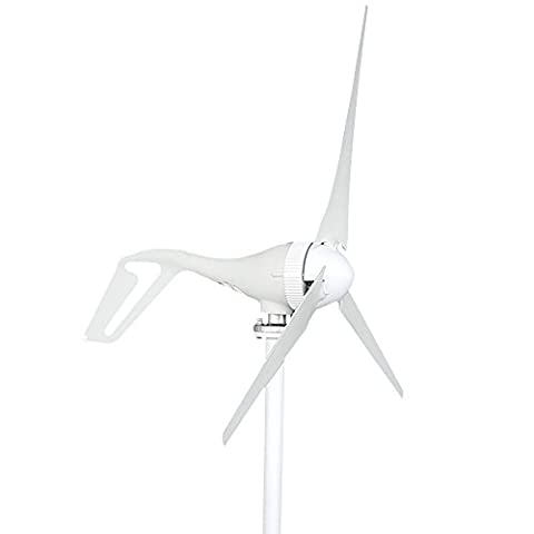 TOPQSC Turbine éolienne DC12V 300W Générateur de Turbine à Vent Kit de Turbine éolienne Supplément d'énergie (3-Lames)