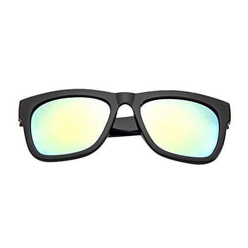 ReooLyFrauen Männer Vintage Retro Brille Unisex Fashion Mirror Lens Sonnenbrille -