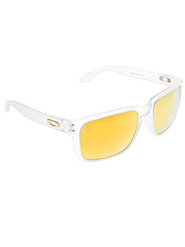 Oakley Holbrook Oo9102 Matte Clear / Shaun White Signature / 24k Iridium Polarized Kunststoffgestell - Sonnenbrille White Holbrook