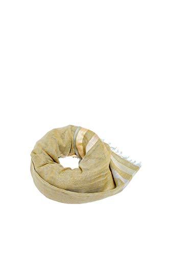 ESPRIT Accessoires Damen 049EA1Q011 Schal, Khaki BEIGE 250, One Size (Herstellergröße:1SIZE)