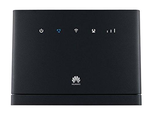 HUAWEI B315s-22 LTE Cat4 Router 150Mbps Schwarz (Zertifiziert und Generalüberholt)