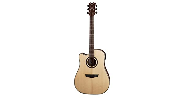Guitars & Basses Lovely Dean Nsdc Gn Natural Series Dreadnought Cutaway Acoustic Electric Guitar