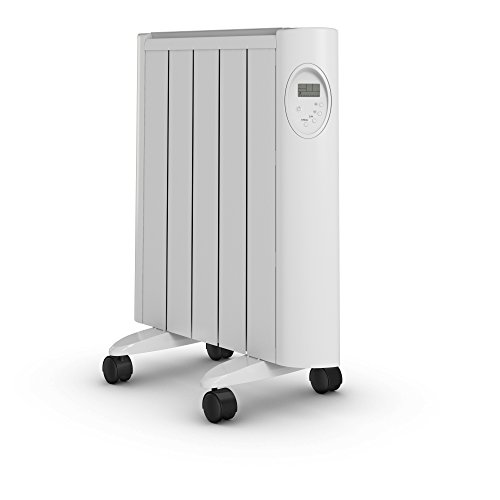 31PKpdFfo3L. SS500  - Pifco Green Energy Ceramic Radiator with LED Digital Control and Timer, Energy Efficient, 1000 W, White