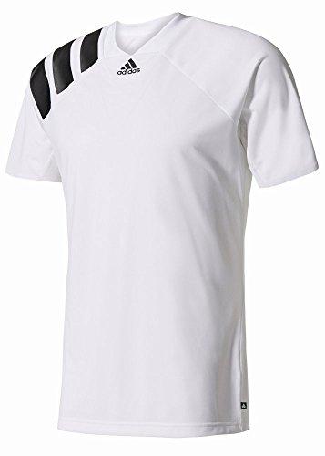 adidas Herren Tango Stadium Icon Kurzarm Trikot, White/Black, L - Trikot Kurzarm Torwart