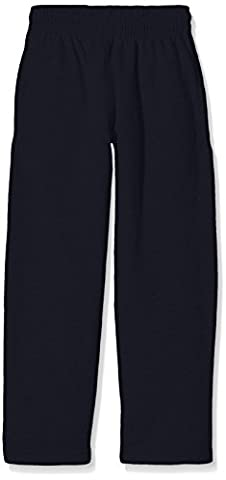 Fruit of the Loom Jungen Sporthose Gr. 5-6 Jahre, Blau - Blue (Deep Navy)