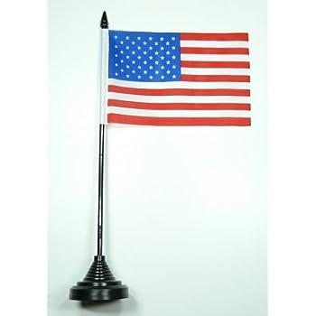 Fahne / Tischflagge USA NEU 11 x 16 cm Flaggen: Amazon.de: Garten