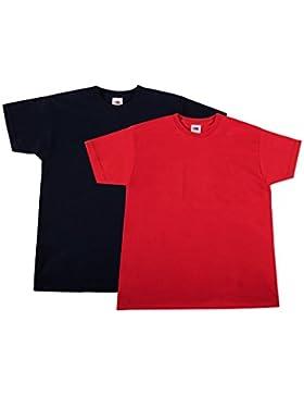 Fruit of the Loom Jungen T-Shirt Valueweight T Kids, 2er Pack