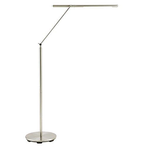Design Tageslicht Standleuchte »Helio« Silber Stehlampe modern