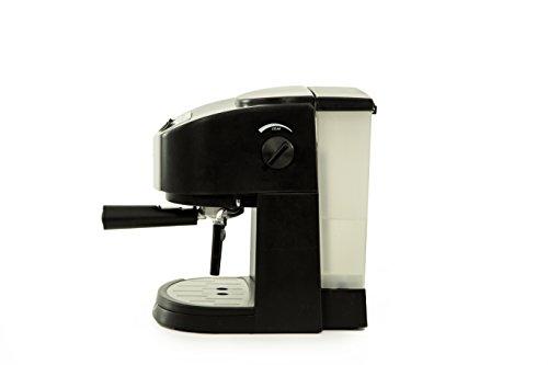 TECNORA Classico TCM 107 M Thermoblock Pump Espresso and Cappuccino Coffee Maker (1050 W, Black)