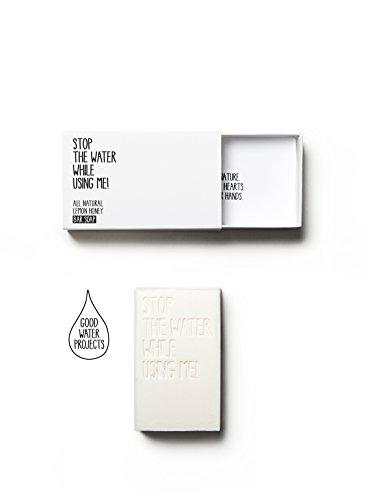 All Natural Lemon Honey Bar Soap 125g