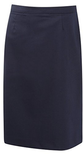 School Uniform Senior Girls Straight Skirt Navy 28